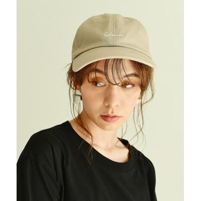 CROSSPLUS ONLINE / 【EDWIN】エドウィン ワンポイント 刺繍 キャップ WOMEN 帽子 > キャップ
