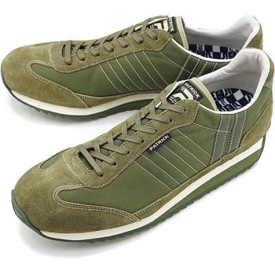 返品送料無料 パトリック PATRICK 日本製 マラソン・ギャバ MARATHON-GB メンズ レディース 撥水 スニーカー 靴 KK カーキ系 531388