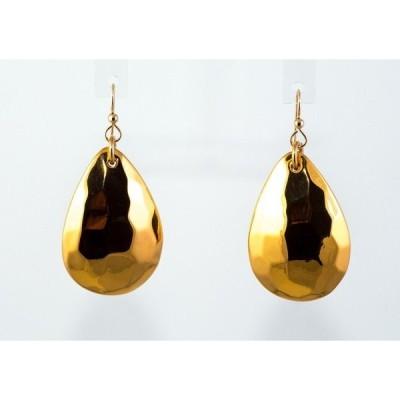 アクセサリー 海外セレクション Simon Sebbag Gold Pl Sterling Silver Large Faceted Tear Wire Earrings E2807/W-G
