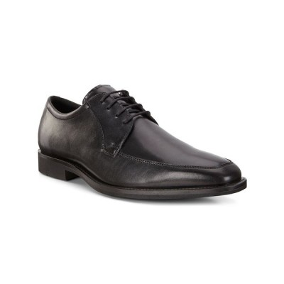 エコー ドレスシューズ シューズ メンズ Men's Calcan Apron Toe Tie  Oxford Black