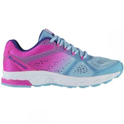 カリマー KARRIMOR レディース ランニング・ウォーキング シューズ・靴 Tempo 5 Running Shoes BLUE/PINK