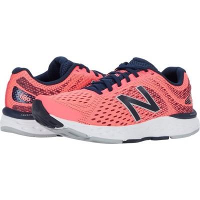 ニューバランス New Balance レディース ランニング・ウォーキング シューズ・靴 680v6 Guava/Black