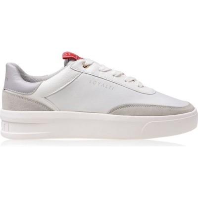 ロイヤリティ Loyalti メンズ スニーカー シューズ・靴 Deuces Trainers White/Grey