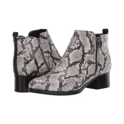 Clarks クラークス レディース 女性用 シューズ 靴 ブーツ アンクル ショートブーツ Mila Sky - Grey Snake