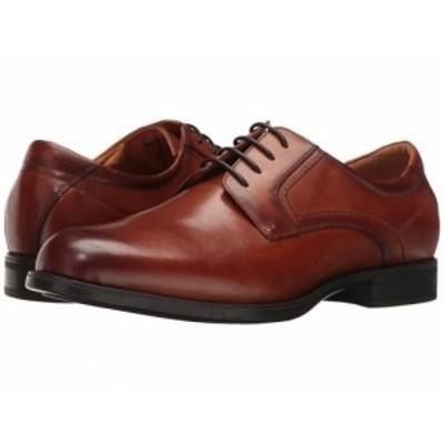 Florsheim フローシャイム メンズ 男性用 シューズ 靴 オックスフォード 紳士靴 通勤靴 Midtown Plain Toe Oxford Cognac【送料無料】