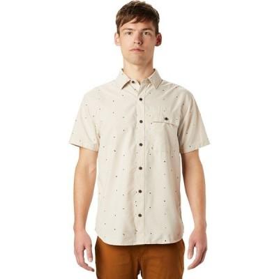 マウンテンハードウェア シャツ メンズ トップス Greenstone Short-Sleeve Shirt - Men's Lightlands Scatter Dot Print