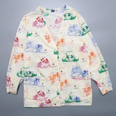 ミッキー スリーピングシャツ パジャマシャツ サイズ表記:XS