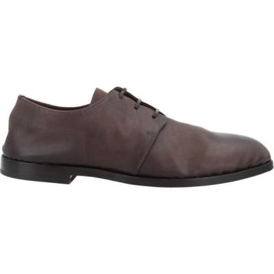 メアスポンテ MEASPONTE メンズ 革靴・ビジネスシューズ シューズ・靴 Laced Shoes Dark brown