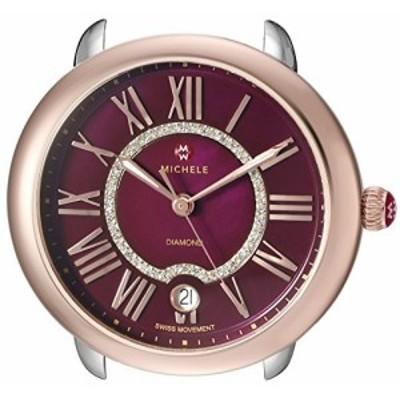 Michele Women s mw21b00l4033?Serein 16アナログディスプレイスイスクォーツシルバー腕時計ヘッド