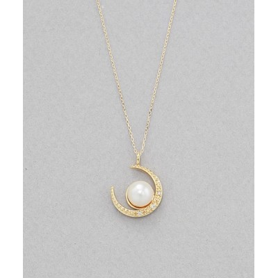BLOOM ONLINE STORE / 【BLOOM/ブルーム】6月誕生石K10イエローゴールドあこや真珠ネックレス WOMEN アクセサリー > ネックレス