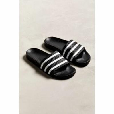 アディダス adidas メンズ サンダル シャワーサンダル シューズ・靴 Adilette Slide Sandal Black