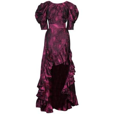 MIAU by CLARA ROTESCU ミニワンピース&ドレス モーブ 36 ポリエステル 85% / コットン 15% ミニワンピース&ドレス