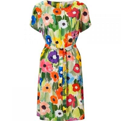 ジュームズ レイクランド James Lakeland レディース ワンピース ワンピース・ドレス Poppy Print Dress Green