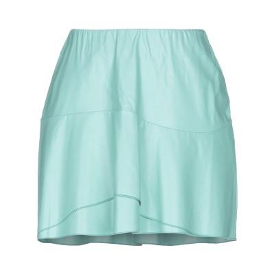 ジジル JIJIL ミニスカート ライトグリーン 42 ポリエステル 100% / ポリウレタン ミニスカート