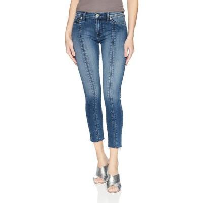 Hudson | Nico Unfamed Super Skinny Crop Jeans | Blue | 25