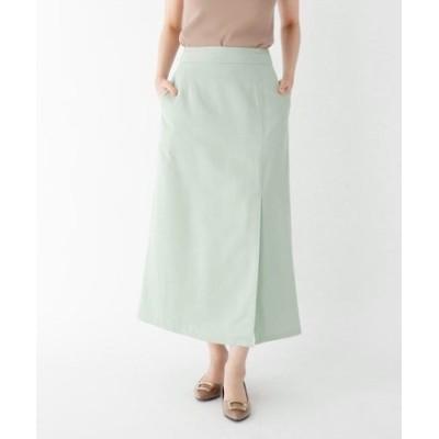 【大きいサイズあり・13号】INNOWAVE エクストラファインクロス ラップ風スカート
