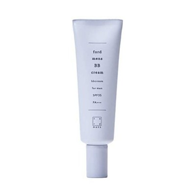 SPF 35PA+++ 紫外線 防止 BBクリーム メンズ 自然な 肌色 オーガニック成分 配合 [ 目のクマ ニキビ跡 青髭 メイク コンシーラー