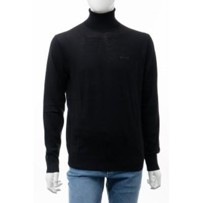 ディースクエアード DSQUARED2 セーター ニット タートルネック ブラック メンズ (S74HA0992S16794)