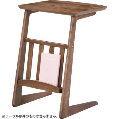 天然木 棚付き サイドテーブル/サイドテーブル テーブル table ソファテーブル ソファーテーブル テーブル ベッドサイドテーブル トレーテーブ