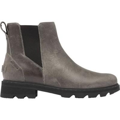 ソレル SOREL レディース ブーツ チェルシーブーツ シューズ・靴 Lennox Chelsea Casual Boots Quarry