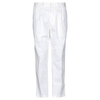 ザ ジジ THE GIGI パンツ ホワイト 50 コットン 98% / ポリウレタン 2% パンツ
