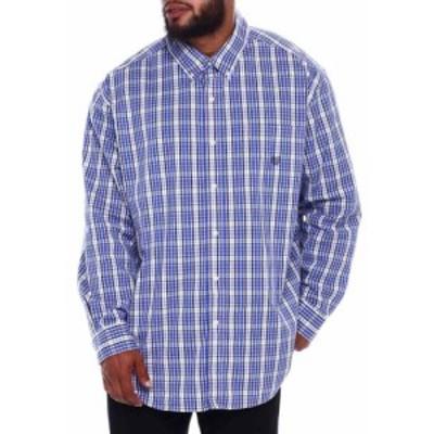 チャプス Chaps メンズ シャツ トップス ec stretch-long sleeve-sport shirt (b&t) Multi