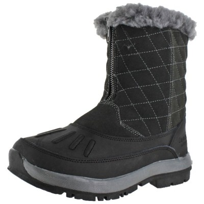 ブーツ ベアパウ Bearpaw Maryanne Women's Waterproof Snow Zip-Up Duck Boots
