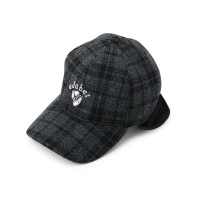 adabat / 耳あて付きキャップ MEN 帽子 > キャップ