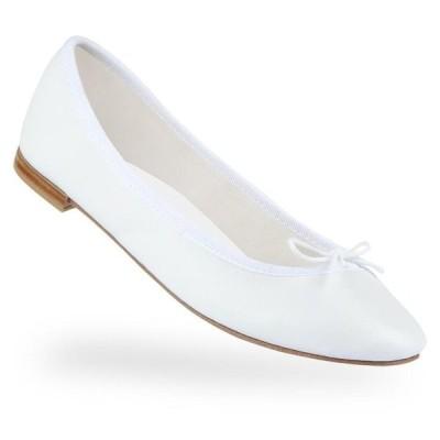 正規取扱店 repetto Ballerina Cendrillon Vegetal like White 牛革 ホワイト (レペット サンドリオン)