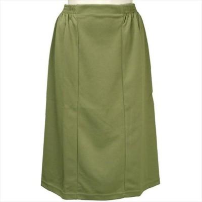 Damart(ダマール)COLLECTION-I ウエストゴムスカート 緑