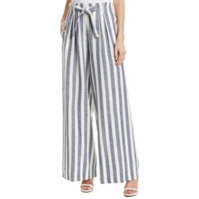 BCBGMAXAZRIA BCBG マックスアズリア ファッション パンツ Bcbgmaxazria Pleated Linen-Blend Pant