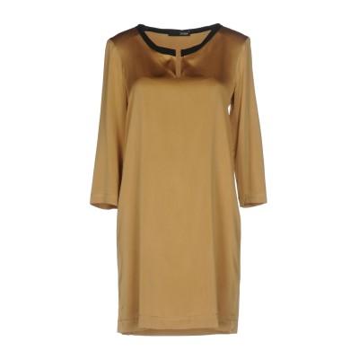 テッサ .TESSA ミニワンピース&ドレス オークル 40 シルク 94% / ポリウレタン 6% ミニワンピース&ドレス