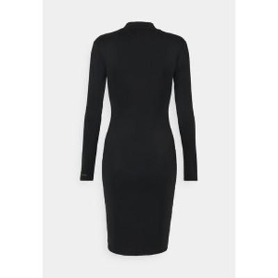 シックスジュン レディース ワンピース トップス SPY DRESS - Shift dress - black black