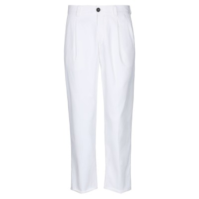 PT Torino パンツ ホワイト 30 ナイロン 60% / コットン 36% / ポリウレタン 4% パンツ