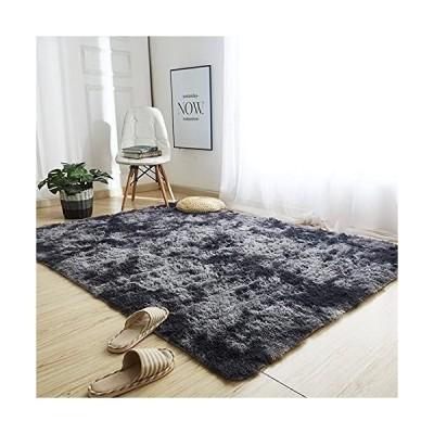 ラグマット ラグカーペット 滑り止め付 洗えるラグ 抗菌 ふわっと手触り優しいフランネルラグ 120×160cm(約2畳) 折り畳み 長方形