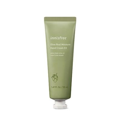 オリーブ・リアル・モイスチャー・ハンドクリーム(Olive Real Moisture Hand Cream) 生クリームのように、肌の奥まで吸収される有機農オリーブハンドクリーム 容量:50ml