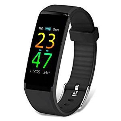 itDEAL スマートウォッチ 多機能 スマートブレスレット血圧測定 腕時計スポーツ 心拍計 歩数計 睡眠検測 IP67防水防塵 日本語対応 iPhone