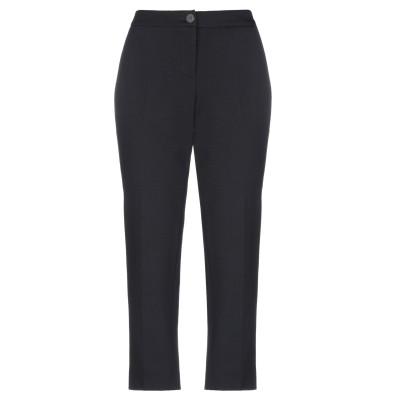 セミクチュール SEMICOUTURE パンツ ブラック 46 レーヨン 68% / ナイロン 27% / ポリウレタン 5% パンツ