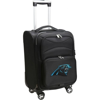 """NFL ユニセックス スーツケース・キャリーバッグ バッグ Mojo 20"""" Spinner Carry On Suitcase Carolina Panthers"""