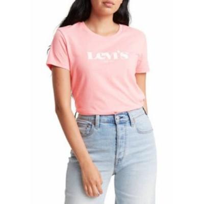 リーバイス レディース Tシャツ トップス Logo Perfect T-Shirt Peony