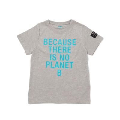 BECAUSE キッズTシャツ / NATAL BECAUSE PRINT BLUE TSHIRT