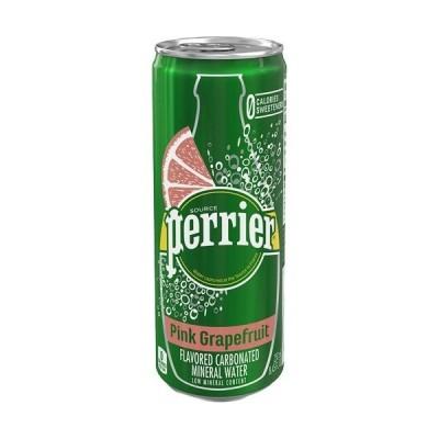 ペリエ ピンクグレープフルーツ 無果汁・炭酸水 缶 ( 250ml*30本入 )/ ペリエ(Perrier)