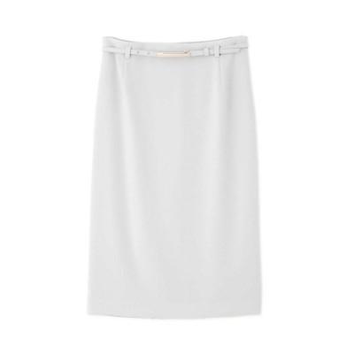 <BOSCH/ボッシュ> 《B ability》バックサテンジョーゼットセットアップスカート グレー【三越伊勢丹/公式】