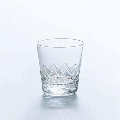 オールドグラス おしゃれ 食器 ギフト |アデリア クーレルオールド7 X 6個 ( タンブラー ) | クーレル上矢来カット 4917