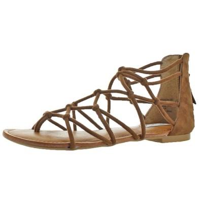 サンダル ノットレイテッド Not Rated Naughty Monkey Genevie Women's Knot Gladiator Sandals Shoes