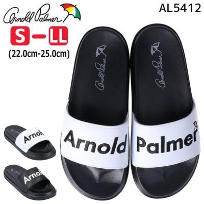 アーノルドパーマー サンダル 黒 AL5412 シャワーサンダル レディース Arnold Palmer