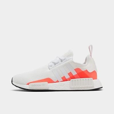 アディダス メンズ ADIDAS NMD RUNNER R1 ランニングシューズ Footwear White/Footwear White/Solar Red スニーカー
