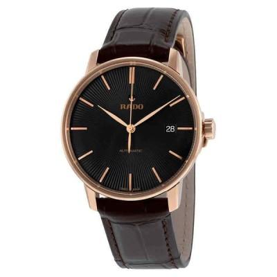 ラド— 腕時計 Rado Coupole Classic クラシック Automatic Black Dial メンズ Watch R22861165