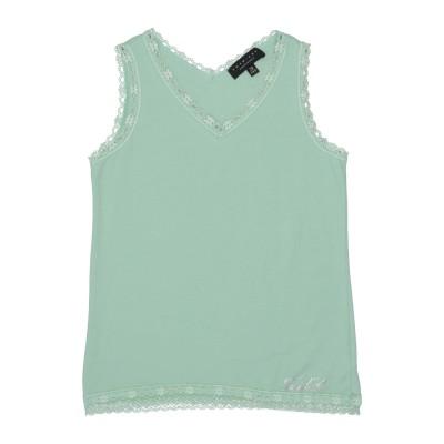 ツインセット シモーナ バルビエリ TWINSET T シャツ ライトグリーン 10 コットン 87% / ポリウレタン 13% T シャツ