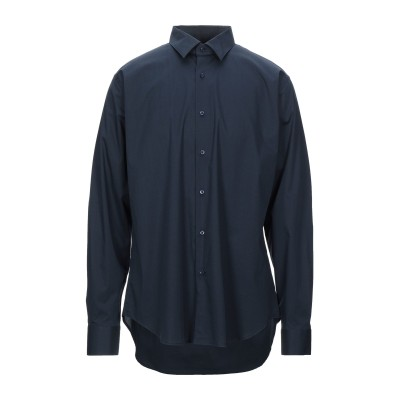 BARRYMOORE シャツ ダークブルー 39 コットン 96% / ポリウレタン 4% シャツ